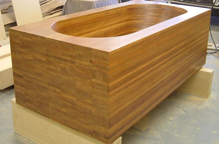 Solid Wood Bath